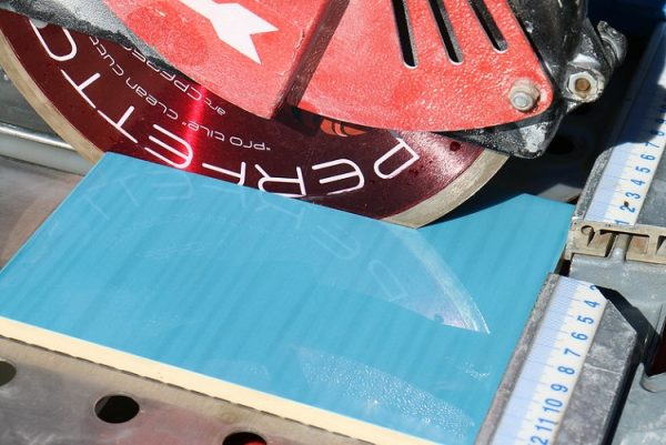How to Cut Porcelain Tile without a Wet Saw