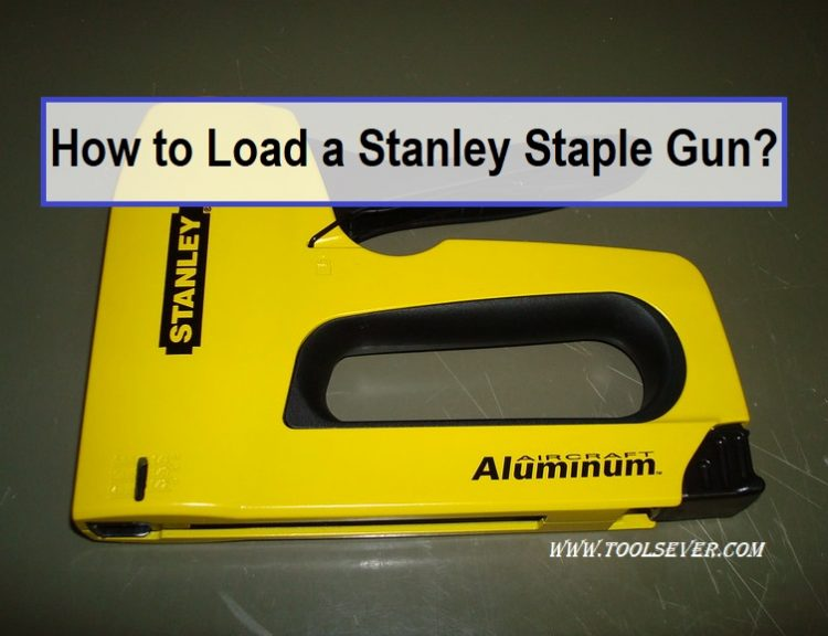 How to Load a Stanley Staple Gun