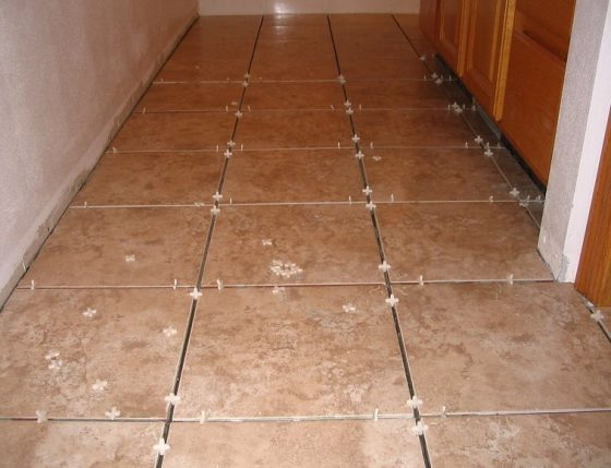how to seal grout on tile floor