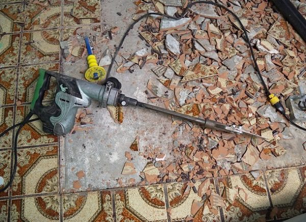 How to Remove Tile from Concrete Floor